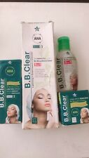 AHA B.B. BB CLEAR WHITENING SET LOTION + Serum + Face Cream+Soap 4pcs Set SPF15