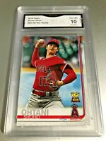 SHOHEI OHTANI ALL STAR ROOKIE CARD 2019 Topps #600 GMA Graded 10 Gem Mint
