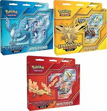 Pokemon SET of 3 Legendary Battle Decks Articuno Zapdos Moltres SEALED!