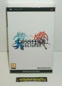 ++ jeu sony PSP FINAL FANTASY DISSIDIA edition collector limitée NEUF ++