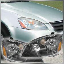 Halogen Headlamps Headlights Left LH & Right RH Pair Set for 05-06 Nissan Altima