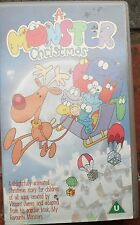 A Monster Christmas. Rare video. 1995 cartoon. Paul Joyce, Vincent James.