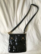 Marc Jacobs Black Patent Leather Cross Body Bag