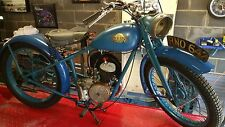 Vintage 1950 SUN 98cc Motorcycle with V5