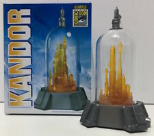 Tweeterhead Superman Kandor Maquette SDCC 2017 Comic Con Bottle City