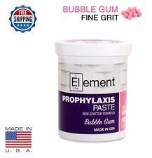 Fine Grit Bubble Gum Element Prophy Paste Dental Prophylaxis 340g 12oz Jar