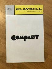Company - Alvin Theatre Playbill - March 1971