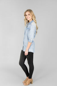 Ice Express Chambray Shirt-New