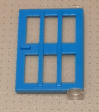 Lego - Blue Door with 6 Panes - 1x4x5 Studs (73313) - GMT252