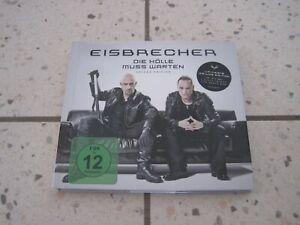 EISBRECHER - DIE HÖLLE MUSS WARTEN CD +DVD LIMITED DELUXE EDITION Top ++++