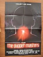 Vintage Movie Poster 1 sheet The Puppet Masters 1994 Donald Sutherland