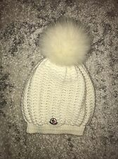 Moncler Berretto Rib-knit Wool Hat