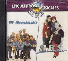 El Simbolo VS SBS Encuentros Musicales Del 2000 CD No Plastic Seal