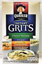 Quaker Instant Grits Variety Pack 12 oz