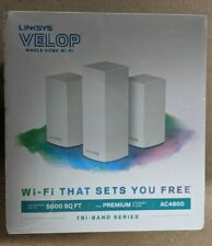 Linksys Velop AC4600 Whole Home WiFi System Tri-band Series VLP0203 New Sealed