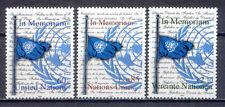 Flagge, Gefallene - UNO Wien, Genf, NY - 3 Werte **  MNH 2003