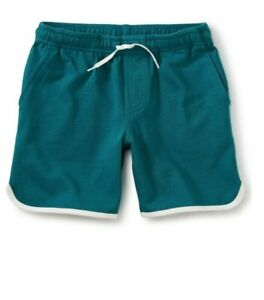 TEA COLLECTION Ringer Knit Pull-on Shorts - Scuba - NWT Boys 12