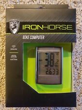 IronHorse iron horse Bike Bicycle Wireless Cycle Computer - 22 Functions - NEW