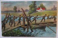 Deutsche Pioniere, Feldpost 1918 aus Glogau (61030)