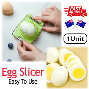 AU Stainless Steel Boiled Egg Slicer Cutter Mushroom Tomato Kitchen Chopper Tool