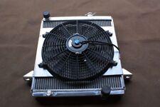 Aluminum radiator + fan for Triumph TR6 1969-1974 / TR250 1967 1968