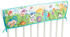 CHG19 Rainforest Cot Rail Cover by Fisher-