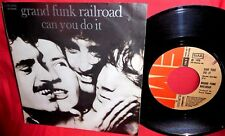GRAND FUNK Can you do it + 1976 45rpm 7' + PS 1976 MINT-