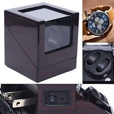 Winder Box Ideal Gift for Christmas 2 Watch Winder Wooden Silent Automatic Watch