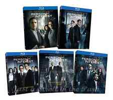 Person of Interest Complete TV Series Seasons 1 2 3 4 5 Box / BluRay Set(s) NEW!