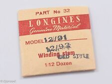 Longines Genuine Material Stem Part 32 for Longines Cal. 12/91 and 12/92