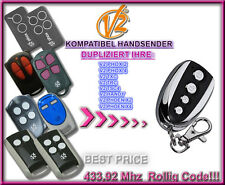 V2 Phoenix2, V2 Phoenix4  Remote control transmitter Replacement 433,92Mhz clone