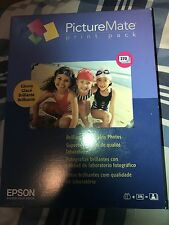 Epson Picturemate T5570 Glossy 2 Ink Cartridges 270 Photo Paper 4X6. SEALED.
