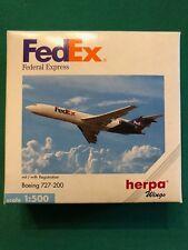 Boeing 727-200 FedEx Federal Express. Herpa Wings 1:500 - Art.-Nr. 503099