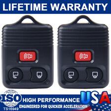 2 Entry Remote Car Key Fob For Ford F150 F250 1999 2000 2001 2002 2003 2004-2007