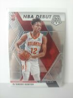 2019-20 PANINI MOSAIC DE'ANDRE HUNTER NBA DEBUT PRIZM RC ROOKIE HAWKS