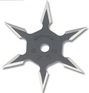 Ninja Training Throwing Star Practice Dense Foam -  w/pouch New!! 6 Point!!!!