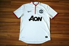 MANCHESTER UNITED 2012/2013/2014 AWAY FOOTBALL SHIRT JERSEY NIKE SIZE M ADULT