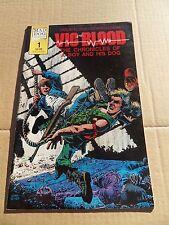 Vic and Blood 1 .Richard Corben . Mad Dog Graphics 1987 -  VF - minus