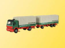 Kibri 14639 gauge H0, MB 2-achs Tractor with Covered Trailer #