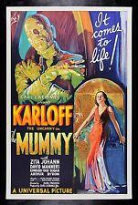 THE MUMMY ✯ CineMasterpieces HORROR S2 MOVIE POSTER RECREATION LTD EDITION
