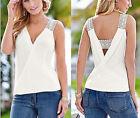 Summer T-Shirt Blouse Blouse Fashion Vest Women Tank Tops Casual Sleeveless Top