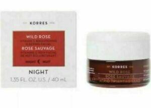 KORRES Wild Rose VITAMIN C Night Brightening SLEEPING FACIAL 1.35 oz/40 mL