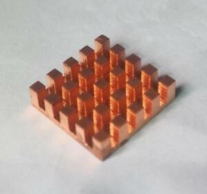 Pure Copper Heatsink (Thickness 2mm/ 3mm/ 4mm )