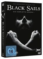 Black Sails - Season 1 [3 DVDs](NEU/OVP) 8 Episoden | Piraten - Abenteuer Serie
