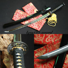 Hand made 1060 high carbon steel japane se samurai katana real sharp