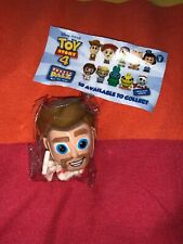 Disney Toy Story 4  Rubber 3D Puzzle Palz Eraser Duke Caboom RARE Mini