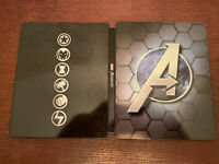 Marvel's Avengers Earth Mightiest Steelbook ONLY NO GAME