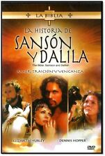 LA HISTORIA DE SANSON Y DALILA NEW DVD FULLSCREEN SPANISH ONLY