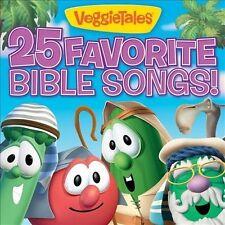 VEGGIETALES - 25 FAVORITE BIBLE SONGS! NEW CD