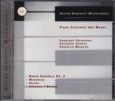 Arturo Benedetti Michelangeli GRANADOS, CHOPIN, MOMPOU Piano Concertos and Works